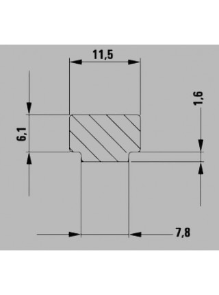 Рычажная струбцина 160x60 для фиксации шин-направляющих GTR16S6H