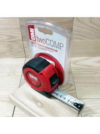 Рулетка BMI twoCOMP L=8м b=25мм