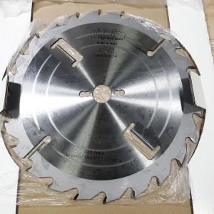 Пила для многопилов с подрезными ножами D300 3,2x2,2x30 Z 24+2+2 H80 A LM3003230F244