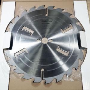Пила для багатопилів з підрізними ножами D350 3,5x2,5x30 Z24+2+4 H105 A LM3503530F246