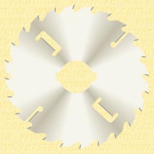 Пила для багатопилів, підрізні ножі, екстратонке розпилювання, покриття D250 2x1,4x40 Z20+2+2 H40 P LM2502040204/C