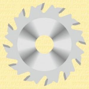 Пазова пила для ламельного фрезера D100x22x3,96 Z12 LL1003962212