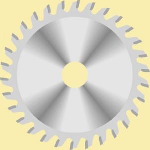 Пила для шліф-машини по алюмінію D100x22x3 Z26 LA100302226P