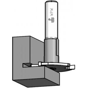 Фреза дискова для паза в чверті D47,6 В3 d12 Z3 NU03002