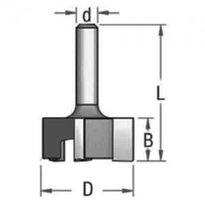 Фреза для вирівнювання площини 3х ножова D28,5 d6 P322853