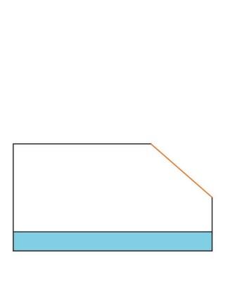 Фреза фасочна з нижнім підшипником α22° D25 В11 d6 F042-22011