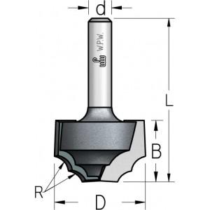 Фреза гравірувальна профільна врізна D25,4 В16 d12 RR42542