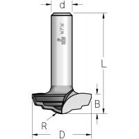 Фрези гравірувальні профільні врізні серії RRI