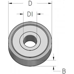 Підшипник D12 D₁6 В4 B120060