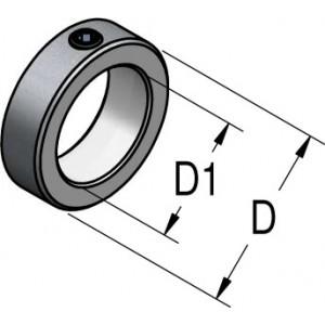 Стопорное кольцо D11 D₁6,35 PF06300