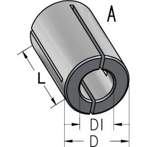 Втулка переходная разрезная D12 D₁10 L25 T120100