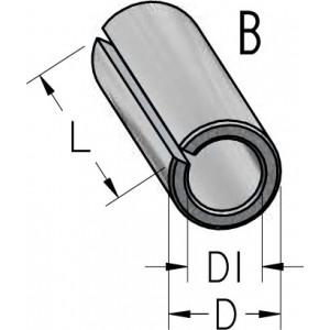 Втулка переходная разрезная D10 D₁6 L25 T100060