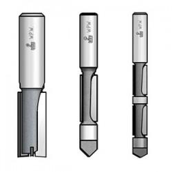 Фрези пазові з торцьовим ножем