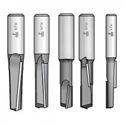 Фрези пазові з аксіальними ножами
