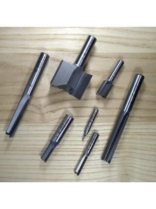 Фреза пазова аксіальна Up-Shear D12,7 В32 d12 Z2 US25132