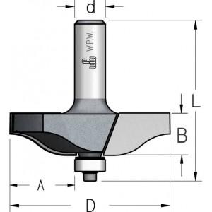 Фреза для обробки фільонок D66,7 В16 d12 RK17002