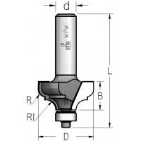 Фрези профільні кальовочні з нижнім підшипником серії MRM/RM