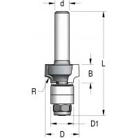 Фрези радіусні двозубі підсилені для крайки ламінату