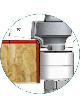 Фреза радіусна підсилена для крайки ламінату R1,3 D16,5 d8 RWB0135