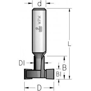 Фреза для Т-подібних пазів D35 В22,2 d12 MM35222