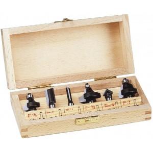 Комплект з шести фрез WoodPecker d8 HS06225