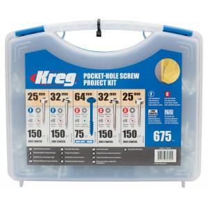 Набір саморізів Kreg SK03 (675шт)