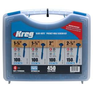Набір саморізів для зовнішніх робіт Kreg SK03B (450 шт.)