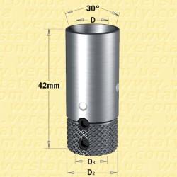 Патрони (адаптери) NordUtensili для свердлильно-присадочних верстатів