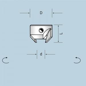 Зенківка для кріплення на хвостовикові свердла d5÷10 D20 L16,5 LH 03100016522B