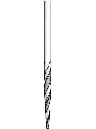 Зенківка для монтажу на корпусі конічного свердла HSS D₁3,2 D9,5 AS23200T