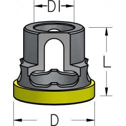 Обмежувачі глибини свердління з полімерним кільцем для зенківок серій AQP та ATP
