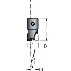 Зенковка прямая для монтажа на корпусе сверла HSS D₁8 D16 AC48020D