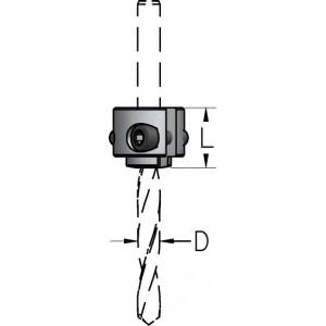 Збірне стопорне кільце для свердл D3÷7 L14 TATM3070