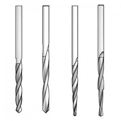 Для качественной работы зенковок WPW (Израиль) требуются качественные сверла HSS.