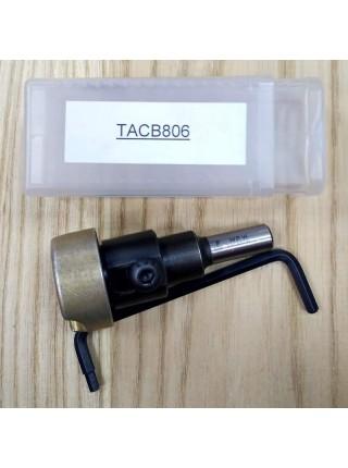 Адаптер універсальний з металевим обмежувачем TACB806 TACB806