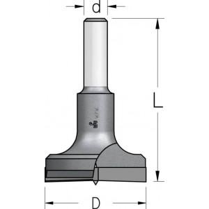 Висвердлювач без підрізачів з циліндричним хвостовиком D35 L57 d8 HMP3505